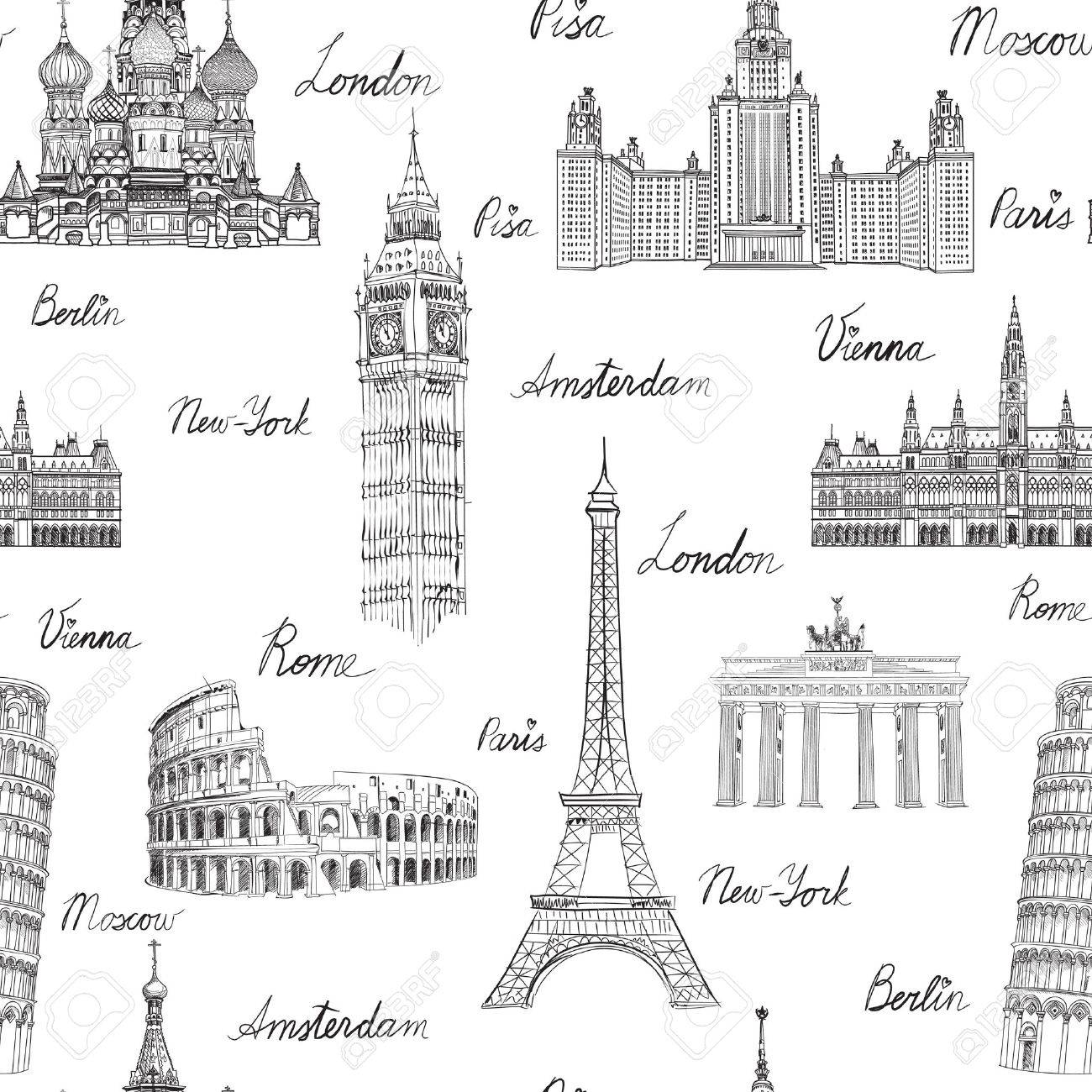 Some Famous Places in Europe